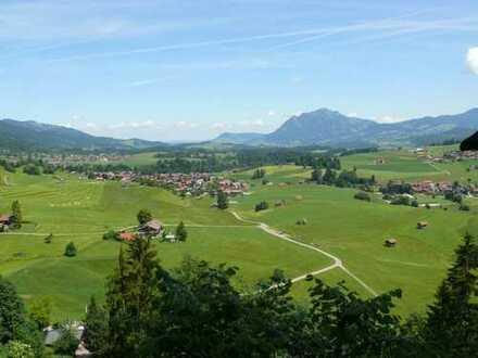 Vorankündigung: Vollständig renovierte 2-Zimmer Wohnung mit Balkon und Bergblick in Obermaiselstein