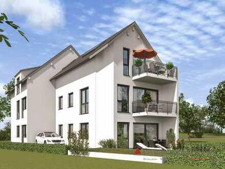 NEUBAU-ERSTBEZUG - Tolle Dachgeschosswohnung mit großem Balkon.