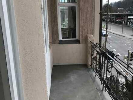 Neu renoviertes Zimmer mit Balkon in Coburg Zentrum