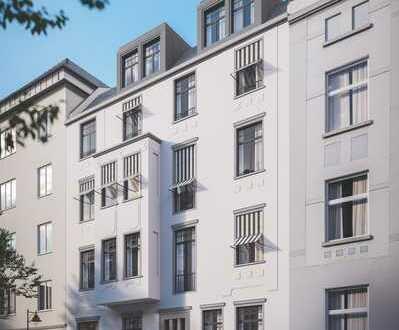 Df.-Oberbilk: Attraktives Penthouse in stilvollem Altbau