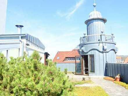 Helle 3-Raum Wohnung mit großer Dachterrasse und traumhaftem Blick über Leipzig