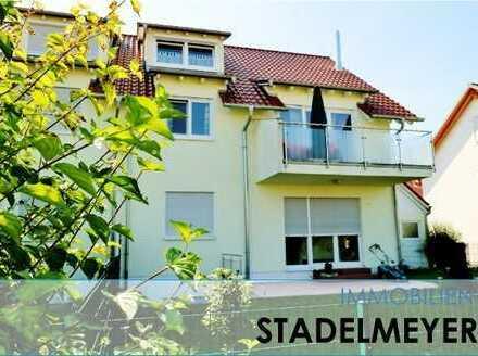 Wohnen wie im Haus... sonnige Maisonettenwohnung mit Terrasse und Garten