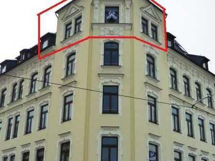 Welch ein Ausblick! Wohnen im Denkmal im Preißelpöhl - 1 Zimmer-Apartment im Dachgeschoß