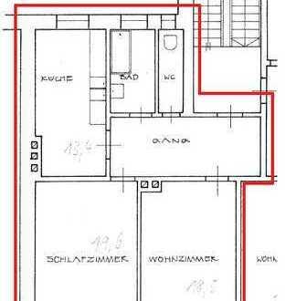 Helle 2 Zimmer-Wohnung am Pasinger Marienplatz