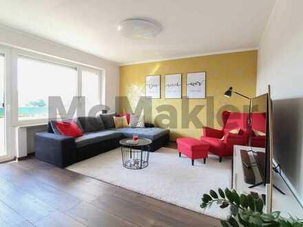 Vollendete Eleganz: Komplett sanierte 3-Zimmer-Wohnung mit Balkon in familienfreundlicher Lage