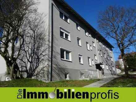 Komplett sanierte, geräumige Wohnung mit Balkon in Selb-Plößberg