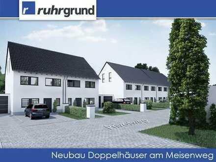 Neubau Doppelhaushälfte in Castrop-Rauxel. 124 m² inkl. Dachgeschossausbau!