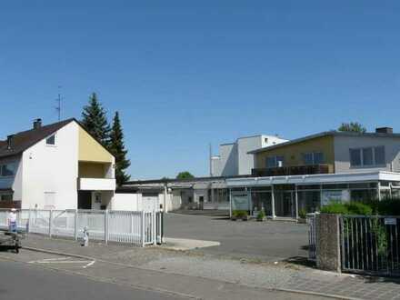Halle/Produktion mit Verwaltungsbüro Gewerbe + opt. EFH Betriebswohnhaus