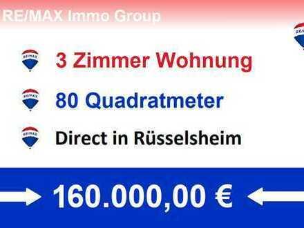 Direkt in Rüsselsheim 3 Zimmer Wohnung 6.OG