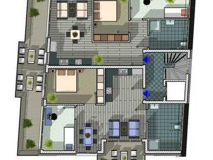 TOP! Tolle barrierefreie Staffelgeschoss-Wohnung mit 2 Balkonen!