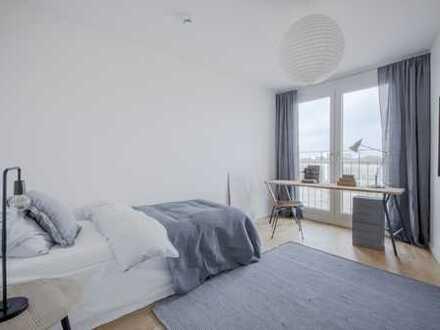 TRAUM 3-Zimmer-Wohnung + Loggia + beste Infrastruktur + Dachgarten + U-Bahn zu Fuß erreichbar +