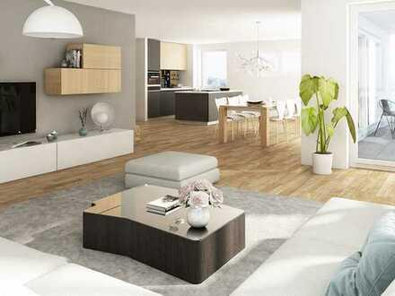 Wohnen in der Residenz Hauberrisserstraße auf 4 Zimmern mit Sonnenterrasse