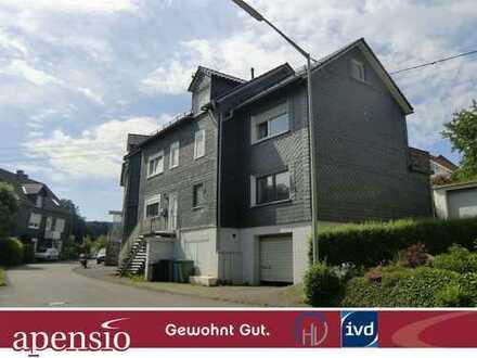 apensio -GEWOHNT GUT-: Wohnen im 2-Parteienhaus mit Fussbodenheizung