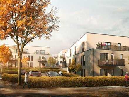 Mitten in Achim - barrierefreie 2-Zimmer-Wohnung mit Gartenanteil und Terrasse