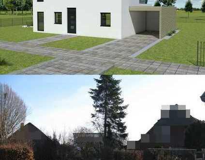 +++Grundstück mit vorprojektiertem Einfamilienhaus!+++