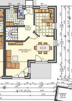 Erstbezug: attraktive 4-Zimmer-Doppelhaushälfte zur Miete in Vechelde, Wahle