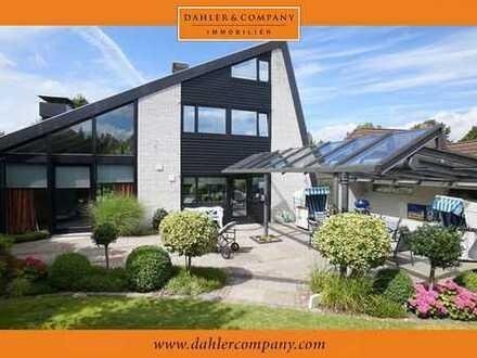 Luxuriöses Wohndesign mit Fördeblick in Toplage