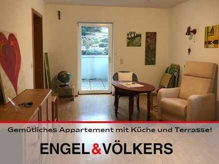 Gemütliches Apartment mit Küche und Terrasse!