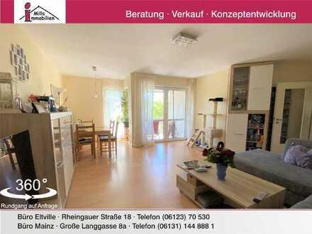 Schöne 3-Zimmer-Wohnung mit sonnigem Balkon auf der Frankenhöhe