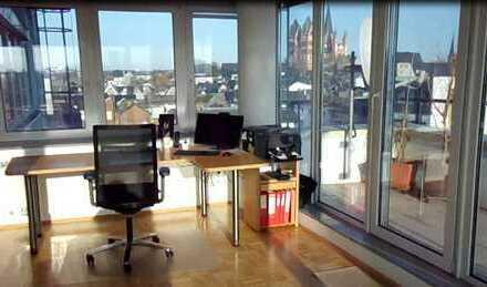 Wunderschöne, gut ausgestattete, geräumige Etagenwohnung mit Blick über Limburg-City