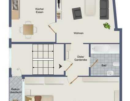 Sanierte Eigentumswohnung in 63225 Langen zu verkaufen