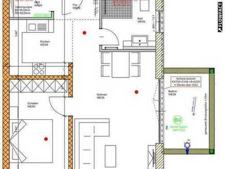 Exklusive 2 Zi-Wohnung mit hochwertiger Ausstattung in zentraler Lage der Kurstadt Bad Orb