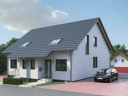 Wohnen am Waldrand: Schicke Doppelhaushälfte in Baiertal