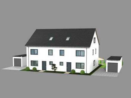 Neubau – Moderne Doppelhaushälfte