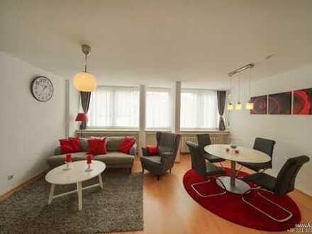 A&M Flat Köln-Chlodwigplatz am Rhein! All inclusive plus! Penthouse + Aufzug + Internet