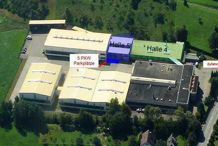 Produktions-/Lagerhalle mit Büroflächen in Kluftern/Friedrichshafen