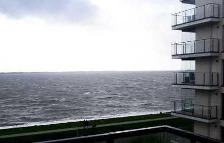 Erstbezug! Modernes Wohnen mit EBK, FBH & Balkon! Ausblick auf die Weser!