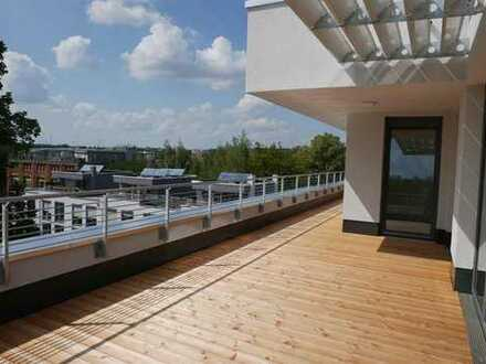 Dachterrasse, Lift und Tiefgrage in Chemnitz - Altendorf -