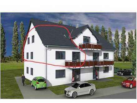 Erstbezug: schöne 4,5-Zimmer-Maisonette-Wohnung (140m²) mit großem Balkon in Gundihausen