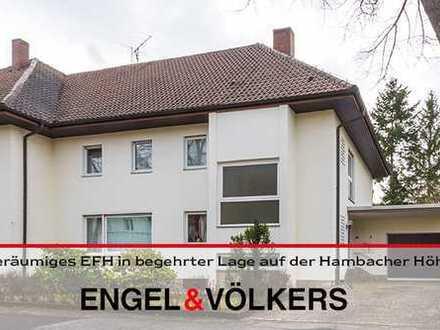 Geräumiges Einfamilienhaus in begehrter Lage auf der Hambacher Höhe mit großem Grundstück