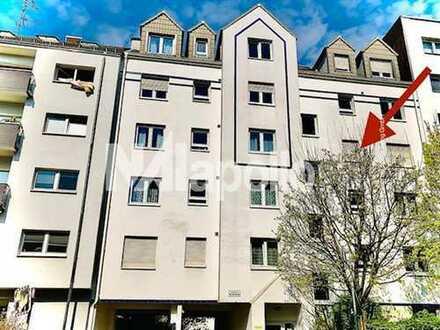Effizient geschnittene 2-Zimmerwohnung mit Kamin in Frankfurt-Ginnheim