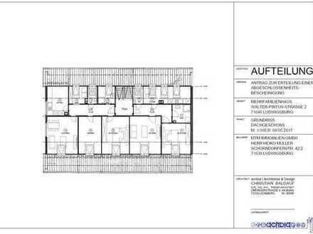 Komplett sanierte 3-Zimmer Wohnung in Ludwigsburg, fußläufig zum Krankenhaus