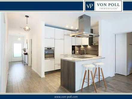 Streichen und einziehen - moderne 2 plus 2x 1/2 - Zimmerwohnung mit Süd-Westbalkon in Szenelage