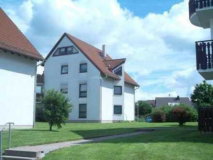 Schöne 2-Raum-Wohnung im Erdgeschoss in Niederlungwitz