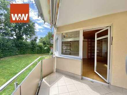 Wohnen im Grünen - attraktive 4-Zimmerwohnung in Amberg