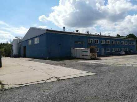 1.800 m² Produktionshalle mit Büroeinheit Lagerhalle Gewerbehalle Werkstatt Industriehalle