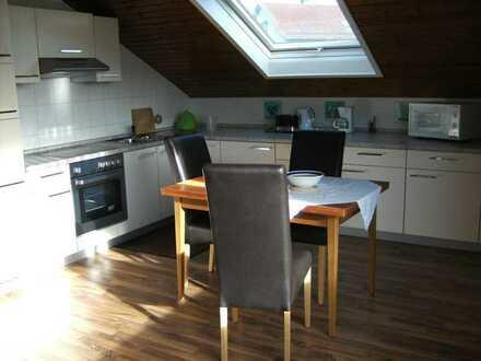 Vollmöblierte moderne und helle zwei Zimmer Wohnung