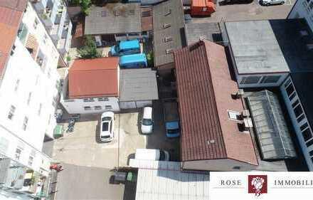 Werkstatt, große 3 Zimmer Wohnung und 2 Einzelgaragen in 2. Reihe im Stuttgarter Westen