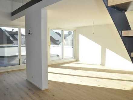 Neubau Penthouse-Maisonette mit großer Dachterrasse