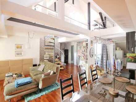 Exklusive 3-Zimmer-Maisonettewohnung mit Neckarblick