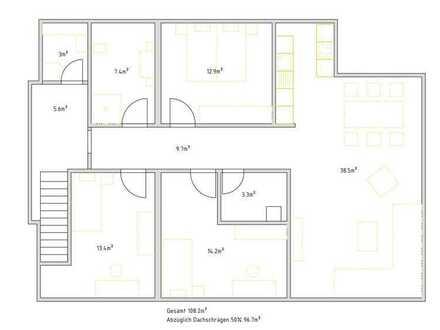 Hochwertige, moderne 3Zi. Wohnung Bj 2020