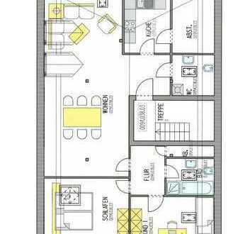 Elegante Wohnung mit tollen Dachbalken