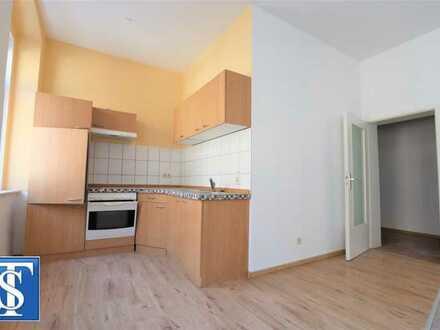 Bezugsfreie 2-Zimmer-ETW im 1. OG mit Dusche und Einbauküche zentrumsnah in Plauen