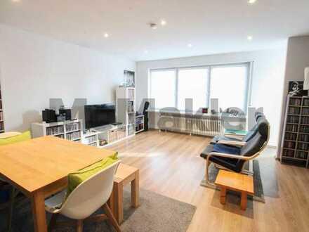 Stilvoll sanierte 2-Zimmer-Wohnung mit Sonnenbalkon in Birkenheide
