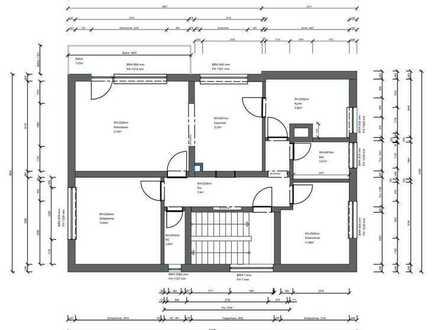Modernisierte 4-Raum-Wohnung mit Balkon in Erlenbach am Main