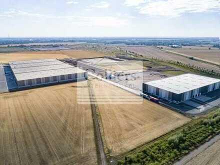 BAUSTART 2020 l Logistikflächen ab 2.000 m² l Nordosten Halle